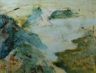 bergen-schilderij-zandlijn-schilderwerken